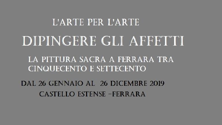 """Nelle sale Castello di Ferrara la """"Collezione ASP"""""""